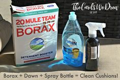 How to Clean Your Patio Cushions Easily | Hometalk | The brilliant reason mixing Borax & dish soap is amazing for your home