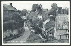 Bloxham Oxfordshire Near Banbury Little Bridge Road c1950s TVAP Printed Postcard | eBay