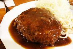 新宿 アカシア 洋食 ハンバーグ