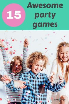 The BEST party games for a kids birthday party. Mix up the classics with these fab, original group games. They're guaranteed to entertain the party guests so much, that they'll all leave with big smiles on their faces. Group Games For Kids, Fun Activities For Toddlers, Kids Party Games, Parenting Toddlers, Fun Games, Birthday Activities, Parenting Advice, Cool Kids, Big Kids