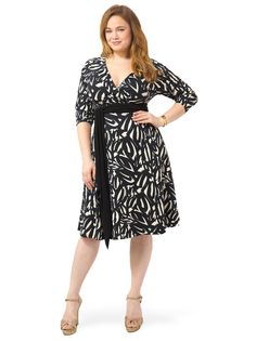 a059dd333e7 Neve Wrap Dress in Sumi-e by Igigi. Dress For YouDress UpPlus Size DressesShort  ...