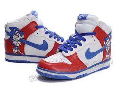 buy popular 7ec5c d4514 Nike Sonic Dunk High Custom Shoes Nike High Tops, Nike Dunks, Custom Shoes,