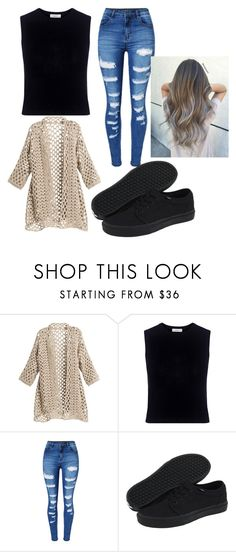 """""""Untitled #37"""" by bry-guard ❤ liked on Polyvore featuring A.L.C., WithChic and Vans"""