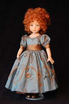 I know I should know this doll's artist.... Dianne Effner?