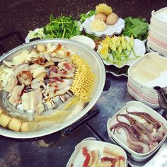grilled & hotpot