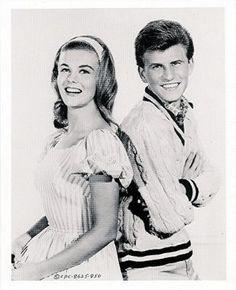 Teen idol, Bobby Rydel with Ann Magret (1959)