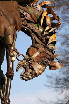 Scrapvmetal for horse