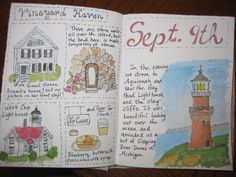 Sketches from Martha's Vineyard