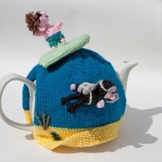 surfer tea cosy £30.00 CherryBee beach
