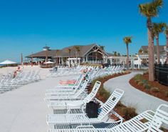Seabrook Island Resort  Seabrook Island is one of the best kept secrets on the East Coast. This community offers residents and guests two championship golf courses, a tennis center, horseback riding, fine and casual dining, a marina and many other amenities.