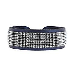ROLL UP CUIR FULL STRASS 2CM