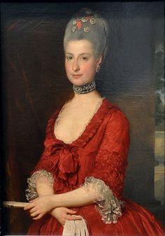 Maria Christina, Duchess of Teschen, 1766 (Marcello Bacciarelli) (1731-1818)   Kunsthistorisches Museum, Wien