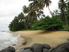 Kribi Beach, still my favorite beach (and a fun, low key holiday destination), Cameroon Beautiful Places To Visit, Cool Places To Visit, Places To Travel, Travel Around The World, Around The Worlds, Rio, Destinations, Thinking Day, Koh Tao