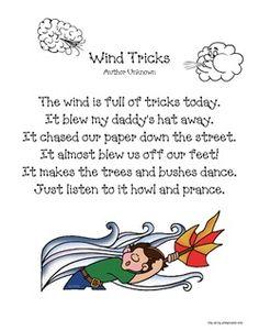 Wind Tricks Poetry Packet