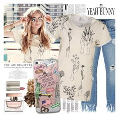 YEAH BUNNY by gaby-mil on Polyvore featuring polyvore moda style 3x1 Ilia Dolce&Gabbana fashion clothing iphone case