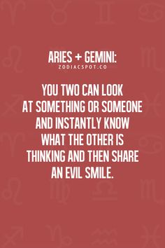 I have a friend whos a gemini and im an aries and now I this all makes sense Gemini And Aries Compatibility, Aries Astrology, Gemini Zodiac, Astrology Chart, Gemini Facts, Zodiac Facts, Zodiac Signs, Gemini Love, Astrology
