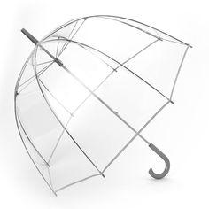 Totes Bubble Umbrella, White Oth