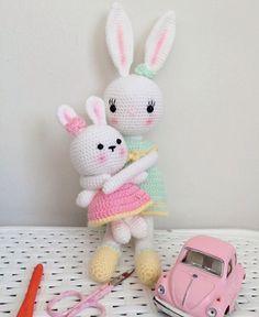 Bunny amigurumi  feyzattkn örgümü seviyorum