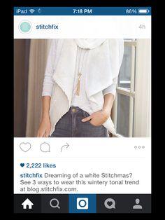 Stitch fix stylist, I need this vest!