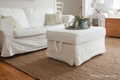Cozy.Cottage.Cute.: Cleaning Tutorial - How I Wash My White Ikea Slipcovers: don't have them yet, but plan to, so great info!