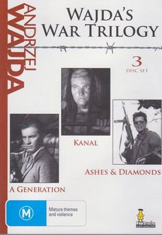Andrzej Wajda Collection - 3-DVD Set ( Pokolenie / Kanal / Popiól i diament ) ( A Generation / Canal / Ashes & Diamonds ) [ NON-USA FORMAT, PAL, Reg.0 Import - Australia ] null http://www.amazon.com/dp/B0036UYXR2/ref=cm_sw_r_pi_dp_3Q71tb011YHR3VV1