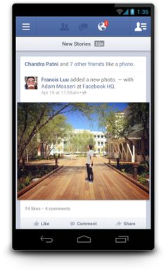 Facebook for Android hits 2.0, gets speed boost
