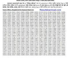 Bangladesh Development Bank Senior Officer Exam Result Development Bank Senior Officer Written date. Job Circular, School Admissions, Exam Results, Entertaining, Writing, Being A Writer, Funny