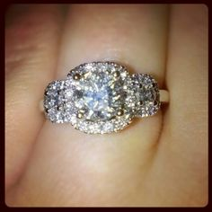 my love got me my dream ring from helzberg diamonds