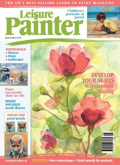 Paint Rambling Roses in Watercolour | Features | Painters Online