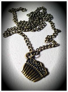 Bronze Beauty Comb necklace by MAYOULEE   Accessories