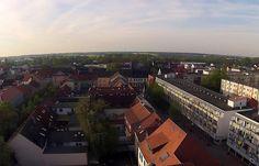 Bernau bei Berlin - Luftaufnahme Innenstadt