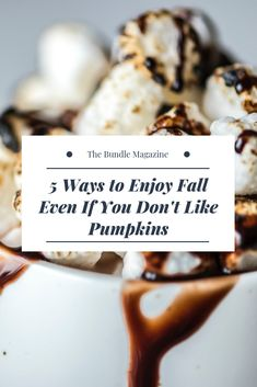 5 Ways to Enjoy Fall Even if You Don't Like Pumpkins Pumpkin Spice Latte, Fall Pumpkins, 5 Ways, Stuffed Mushrooms, Eat, Food, Stuff Mushrooms, Meal, Eten