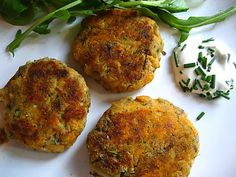 Smoked Mackerel & Sweet Potato Fish Cakes