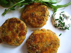 sweet potato and mackerel fishcakes