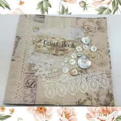 wedding guest book handmade