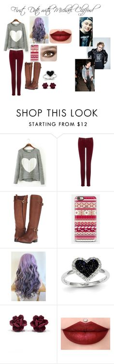 First Date with Michael Clifford by averymo on Polyvore featuring AG Adriano Goldschmied, Naturalizer, Kevin Jewelers, Casetify, A.N.D., 5sos, michaelclifford, 5secondsofsummer and 5sosoutfits