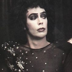 Frank N Furter Rocky Horror Picture Show Tim Curry Rocky Horror, Rocky Horror Show, The Rocky Horror Picture Show, Boys On Film, Horror Costume, The Frankenstein, Fantasy Comics, Creatures Of The Night, American Horror Story