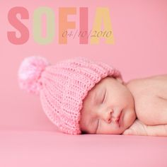 Cute simple hat and fun colors. My children will be clad in knitted things one day. :) Right, @Dianne Kirsch MacDonald?
