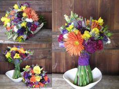 Wildflower bouquets:)