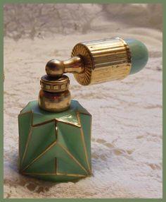 Art deco French Perfume Atomizer