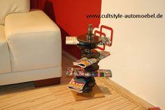 Cultstyle auto möbel 4-Zylinder Kurbelwelle Zeitungsständer