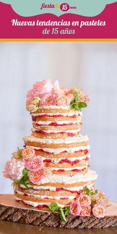 Actualmente existen muchos postres de moda para ofrecer en tu celebración como el candy bar, la barra de dulces y los cupcakes, sin embargo, el pastel sigue siendo una simbólica y apetitosa tradición que no puede faltar. El pastel de 15 años es uno de los protagonistas de la fiesta, y con el paso del tiempo han evolucionado las tendencias para vestirlo y prepararlo, checa algunas