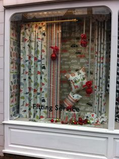 Eye-catching windows! We love this fun and lively window display by The Fabric Place in Orpington, featuring our conversational children's collection Playtime... http://www.prestigious.co.uk/collections/playtime