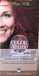 Review - Vopsea de par Color Brio de la Bottega Verde Blog, Beauty, Beauty Illustration