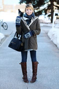 more cute outfit ideas for school this winter. good thing this is my campus, and i know who that girl is (: and i'm pretty sure that's the mckay library in the background.