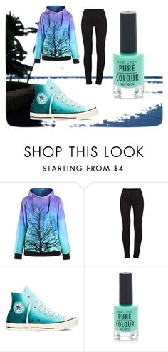 """Cool"" by puppyluvs ❤ liked on Polyvore featuring J Brand, Converse and New Look"