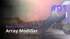 Blender Generate Modifier #01 - Array Modifier
