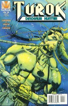 Cover for Turok, Dinosaur Hunter (Acclaim / Valiant, 1993 series) #42