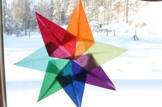 How to Make Waldorf Inspired Window Stars