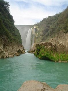 Tamul Waterfall @ Tanchachín, San Luis Potosí México